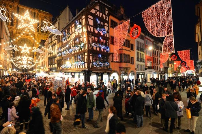 法国斯特拉斯堡(Strasbourg)圣诞集市
