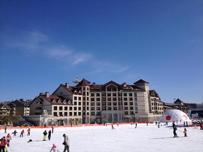 每到冬季,韩国平昌的Alpensia滑雪度假村是国内外游客都会争相入住的度假村。