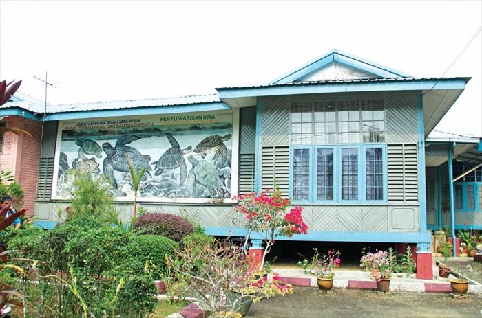 关丹遮拉汀海龟庇护中心。