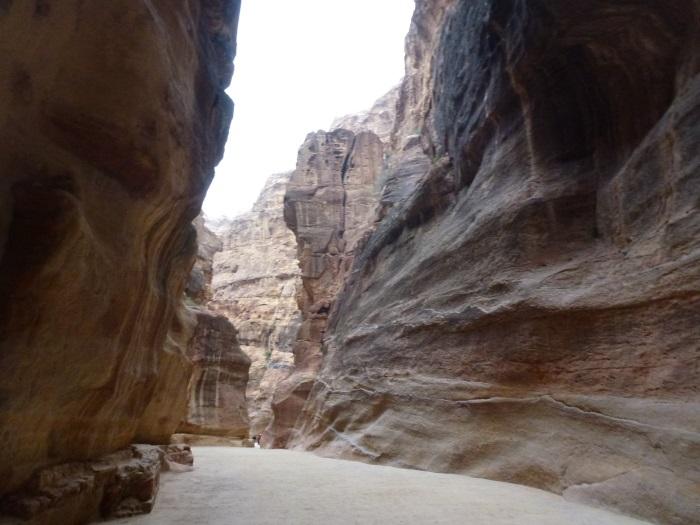 Siq – the gorge of red sandstone.