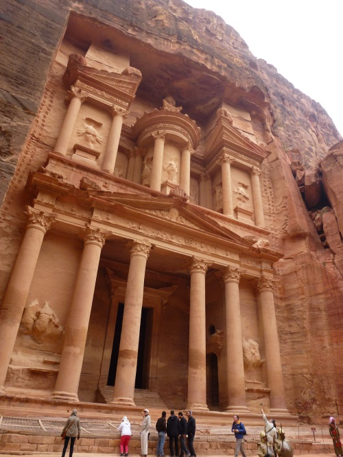 The Petra Treasury is a one of the 7 wonders of the world that we must visit once in our lifetime.