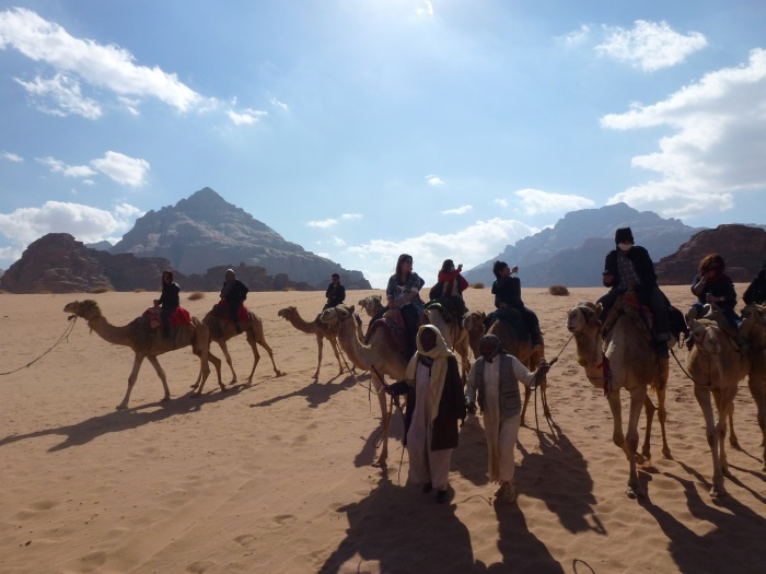 Camels and Petra – the legacy of Jordan's history.