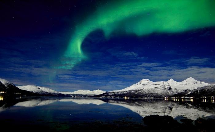 多少人想看见北极光...