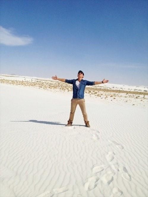白茫茫一片的白沙国家公园,也是电影《变形金刚》的拍摄地点。
