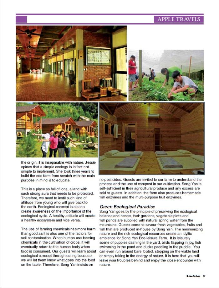 "Say ""Hi"" to Song Yan Eco-leisure Village, pg 79"