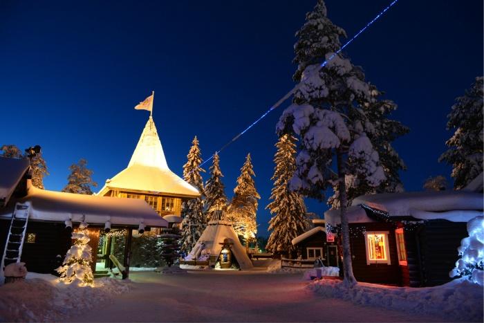"""传说中圣诞老人的故乡,就在靠近俄罗斯的""""野兔耳荒原""""..."""
