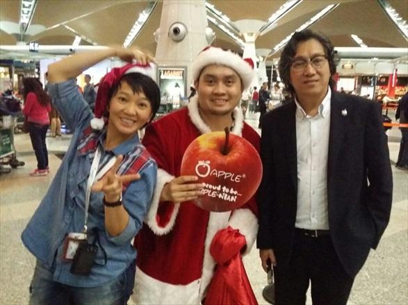 有蘋果陪伴,你的圣诞不寂寞!