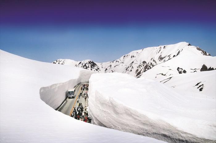 橫越日本屋脊  阿爾卑斯山脈