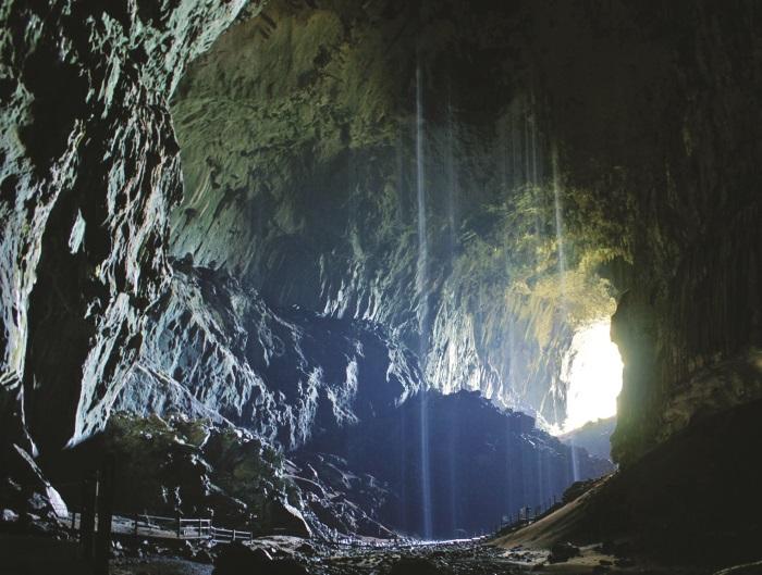 鹿洞是世界上最大的洞穴之一。