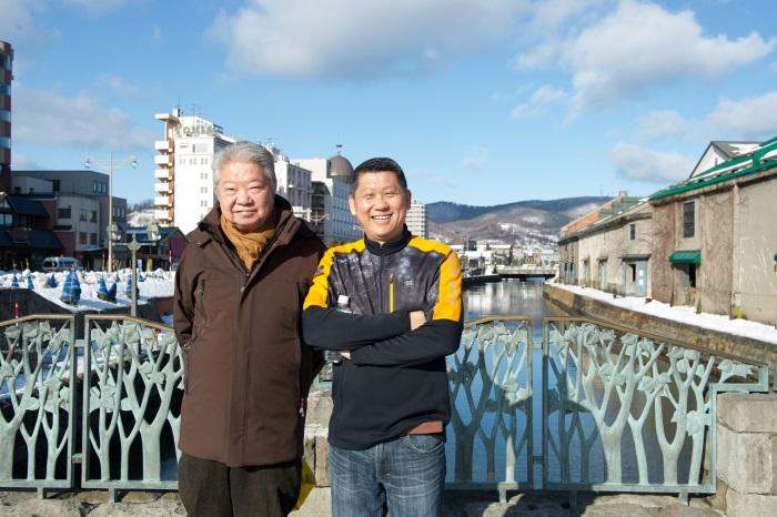 2013年12月14日,李桑與美食家蔡澜破天荒,携手亲率大馬旅团到北海道!