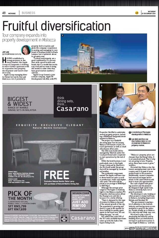 The Star, Saturday December 20, 2014