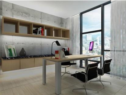 The Apple独特的设计,让购屋者依据自身需求作为家居或办公用途。