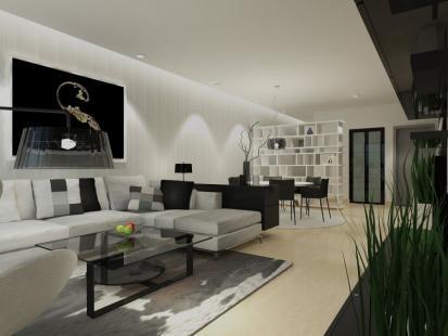 公寓设计新颖典雅,除了视觉享受,也带给投资者时尚高品质的居住环境。