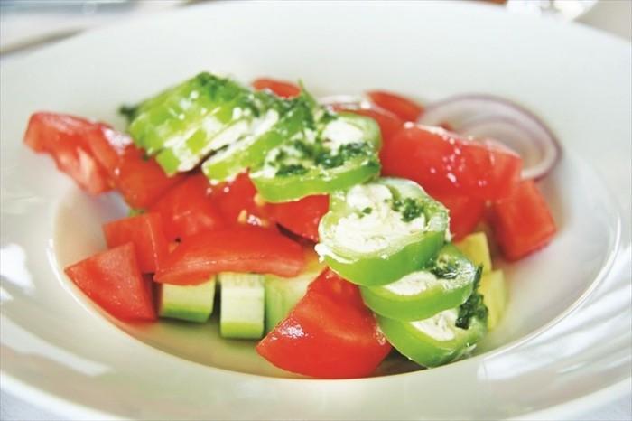 保加利亚的番茄十分好吃,鲜甜多汁,让人欲罢不能。