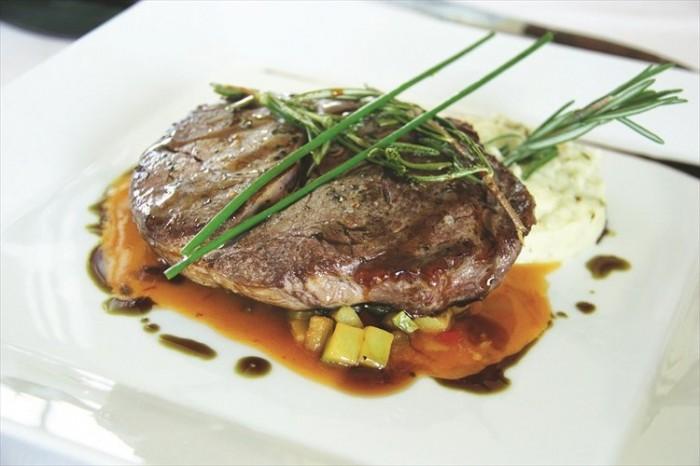生牛肉,比想像中更好吃。